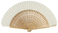 Oak wood fan 4118NAT