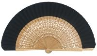 Oak wood fan 4118NEG