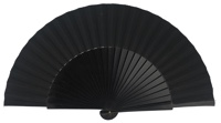 """Semi-pericon"" wooden fan 4144NEG"