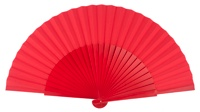 """Semi-pericon"" wooden fan 4144ROJ"