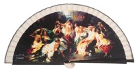 Wooden fan painting collections 4219IMP