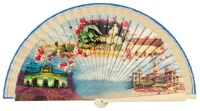 Wooden fan souvenir collections 4233IMP