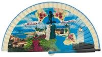 Wooden fan souvenir collections 4250IMP