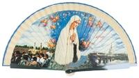 Wooden fan souvenir collections 4256IMP