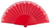 """pericon"" wooden fan 42ROJ"