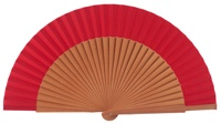 Pear wood fan 4316ROJ