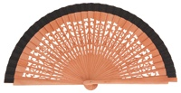 Pear wood fan 4321NEG