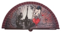 Wooden fan malaka collections 4420IMP