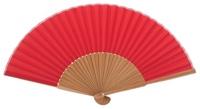 Bamboo fan 4434ROJ