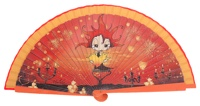 Wooden fan malaka collections 4444IMP