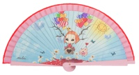 Wooden fan malaka collections 4446ROS