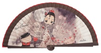 Wooden fan malaka collections 4451MRR