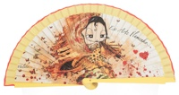Wooden fan malaka collections 4452AMA