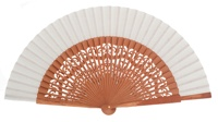 Pear wood fan 4462BLA