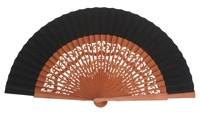 Pear wood fan 4462NEG