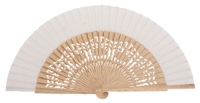 Oak wood fan 4463BLA