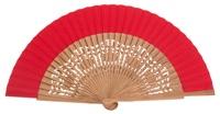 Oak wood fan 4463ROJ