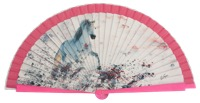 Fantasy wooden fan 4508IMP