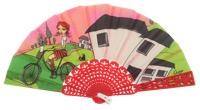 Plastic fan kid collections 4510SUR