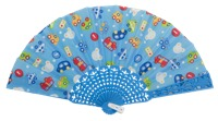 Plastic fan kid collections 4513SUR