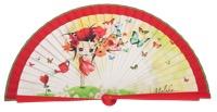 Wooden fan malaka collections 4531ROJ