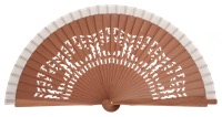 Fagus wood fan 4540BLA