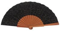 Denim pear wood fan 4554SUR