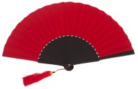 Silk wooden fan 4563NER