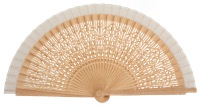 Oak wood fan 4567BLA