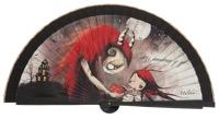 Wooden fan malaka collections 4572NEG