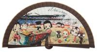 Wooden fan malaka collections 4581MRR