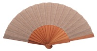 Fantasy pear wooden fan 4595MRR