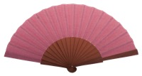 Fantasy pear wooden fan 4595ROS