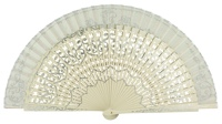 Ceremonies wooden fan 498MFL