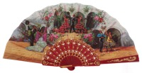 Plastic fan folklore collections 519/2ROJ