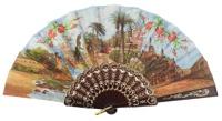 Plastic fan souvenir collections 770/1NEG
