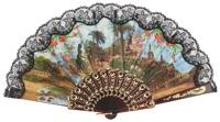 Plastic fan souvenir collections 770NEG