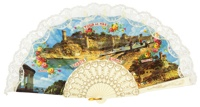 Plastic fan souvenir collections 782MFL