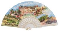Plastic fan souvenir collections 978/1BLA