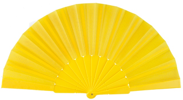 Plastic fan in colors 11AMA