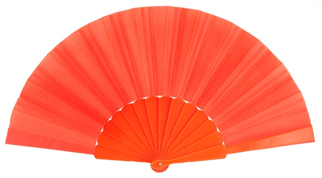 Plastic fan in colors 11NAR