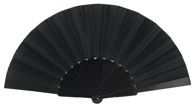 Plastic fan in colors 11NEG