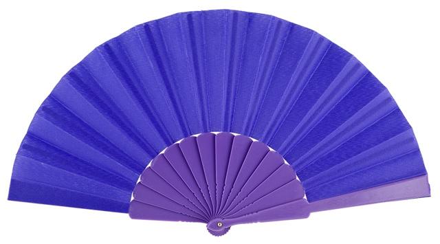 Plastic fan in colors 11VIO