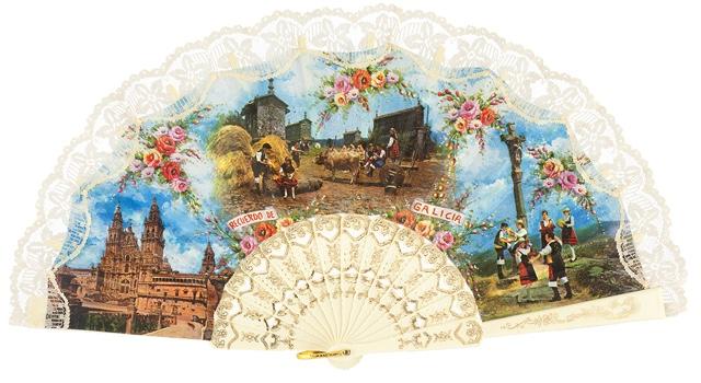 Plastic fan souvenir collections 145MFL