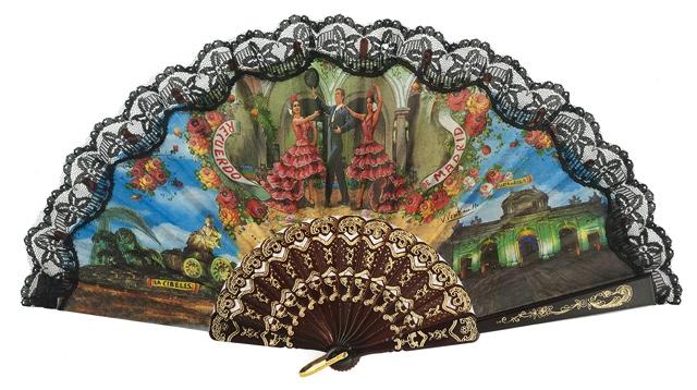 Plastic fan souvenir collections 260NEG