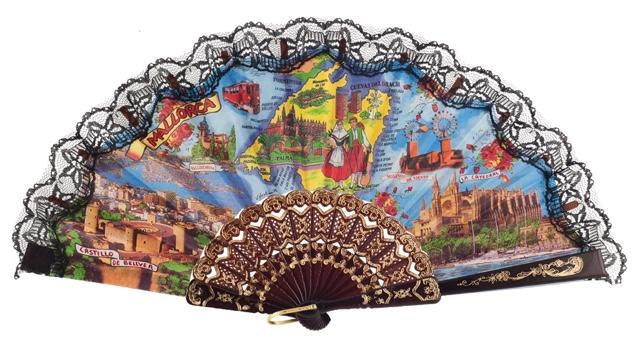 Plastic fan souvenir collections 262NEG