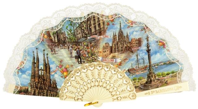 Plastic fan souvenir collections 275/3MFL