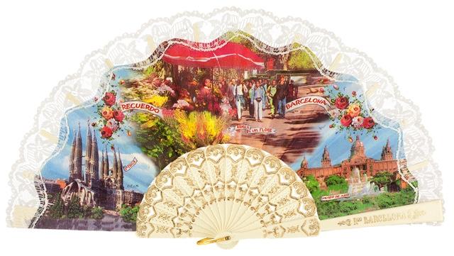 Plastic fan souvenir collections 275/9MFL