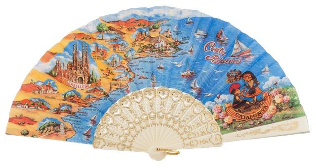 Plastic fan souvenir collections 283/1MFL