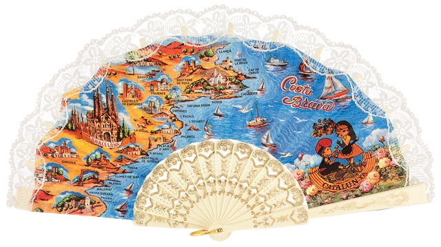 Plastic fan souvenir collections 283MFL
